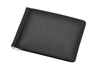 Leder Dollar Clip Geldklammer Geldbörse Kreditkartenetui Jockey Club Nappaleder