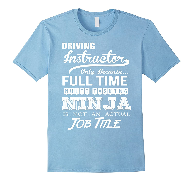 Driving Instructor T-Shirt-TD
