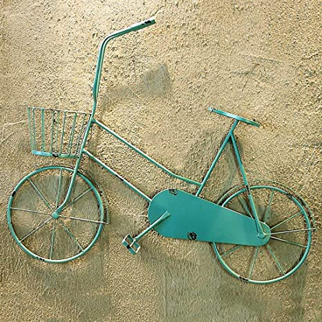 Z-BG Estilo Retro Creativo Modelo de Bicicleta Decoración de Pared ...