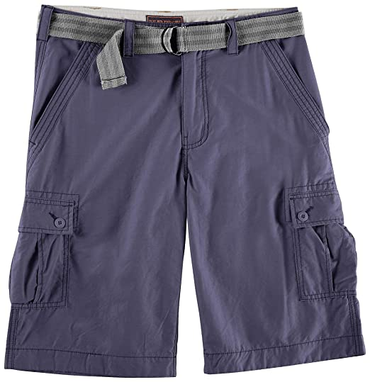 bc9b5b0cb2 Image Unavailable. Image not available for. Color: Wearfirst Mens Solid  Cargo Shorts ...