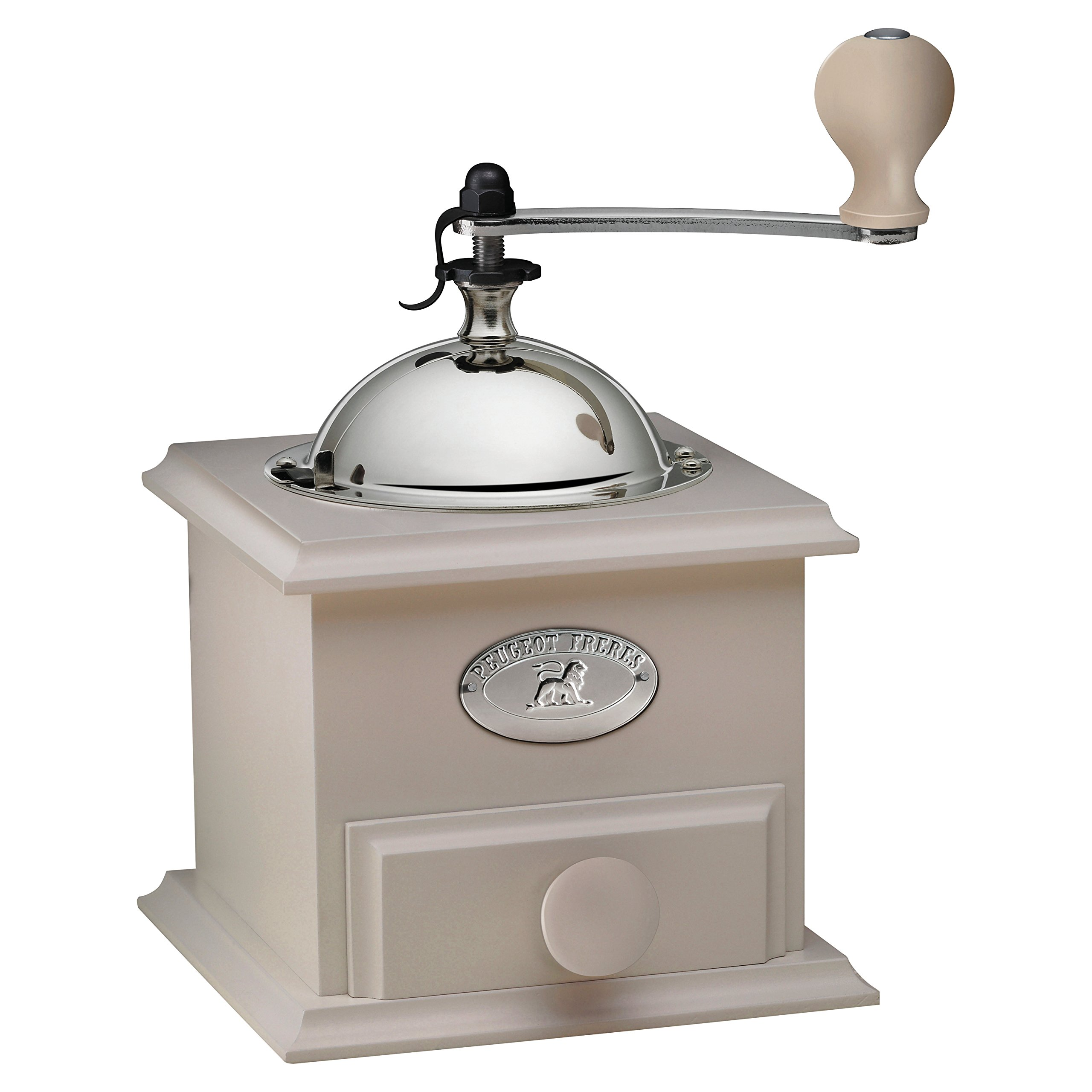 Peugeot 31176 Cottage Coffee Mill, 8-1/4'' x 5'' x 5'', Ivory