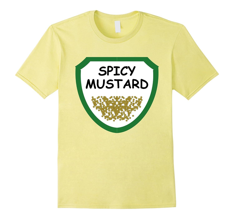 Mustard Shirt for Best Ketchup Mustard Halloween Costume Tee-FL