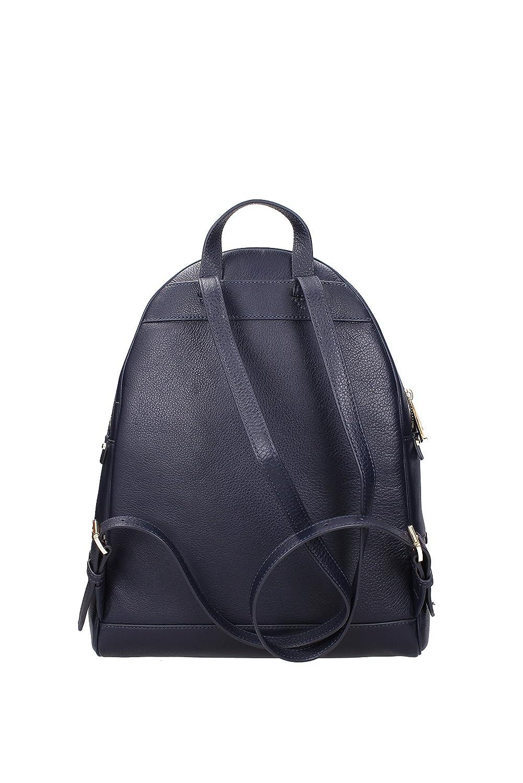 d190411d4a23 Amazon.com: Michael Kors Women's Large Rhea Zip Leather Leather Backpack -  Admiral: Michael Kors: Shoes