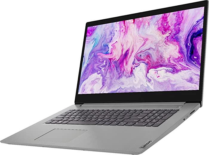 "Lenovo - IdeaPad 3 17"" Laptop - AMD Ryzen 7 3700U - AMD Radeon Vega 10 - Platinum Grey12GB DDR4 RAM, 512GB PCIE SSD, 1TB HDD, Bundle with Woov Accessories - Windows 10 Home"