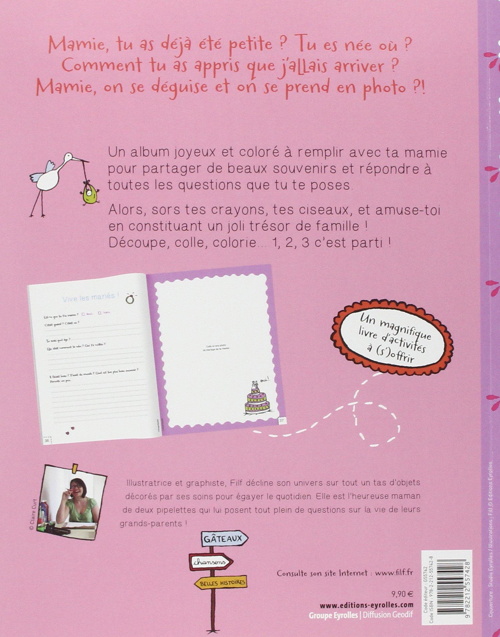 Favori Amazon.fr - Mon album avec Mamie - Filf - Livres FH48