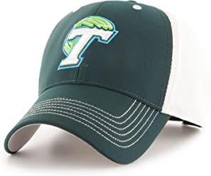 new product 6e646 4ffc5 NCAA Tulane Green Wave Sling OTS All-Star MVP Adjustable Hat, Dark Green,
