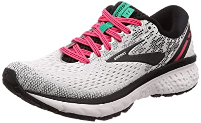 acb7d8f6d4a Brooks Women s Ghost 11 White Pink Black 8.5 ...