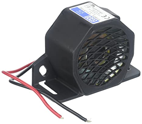 Amazon.com: ECCO 575 Back Up Alarm: Automotive on heater wiring, home alarm wiring, fuel tank wiring, cooling fan wiring, security alarm wiring,