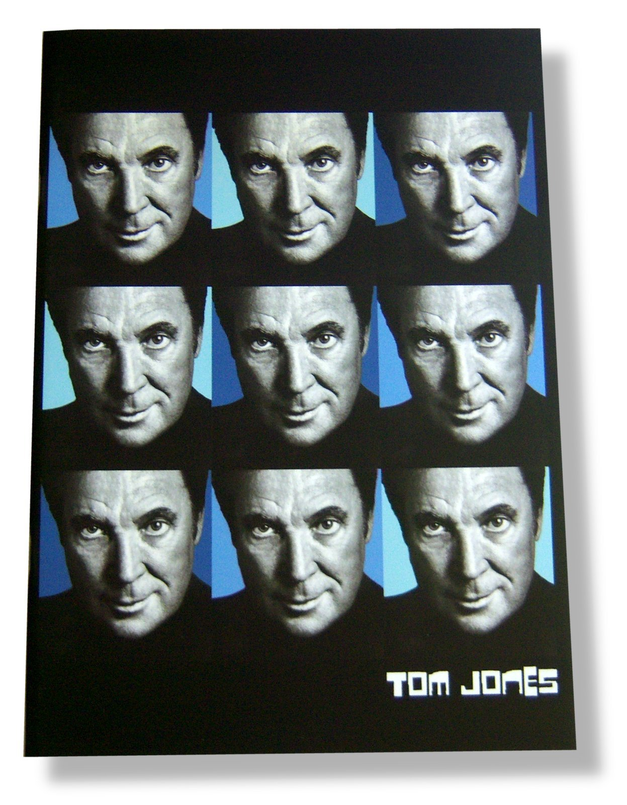 "Download Tom Jones ""Multi Face"" 2003 Tour Book pdf"