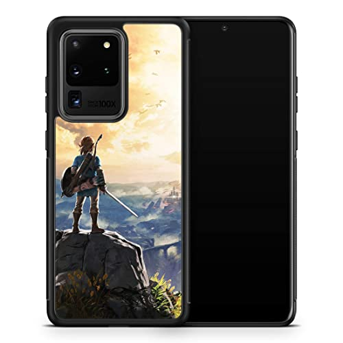 Inspired by Legend of Zelda for Samsung Galaxy S20 Ultra S10 5G Case Galaxy S20 Plus Case Breath Wild Triforce Phone Cover G2