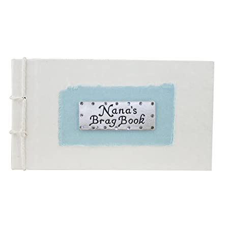 Nanas Brag Book Blue Photo Album Gift Amazoncouk Kitchen Home