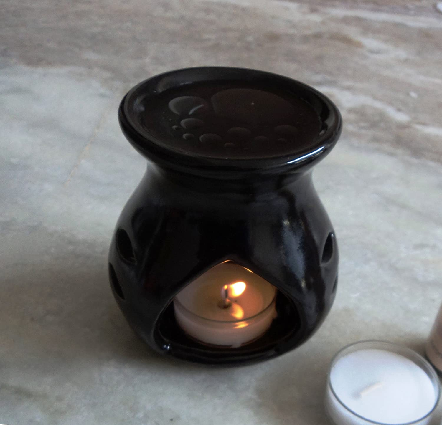 Pure Source India Regular ceramic aroma  candles