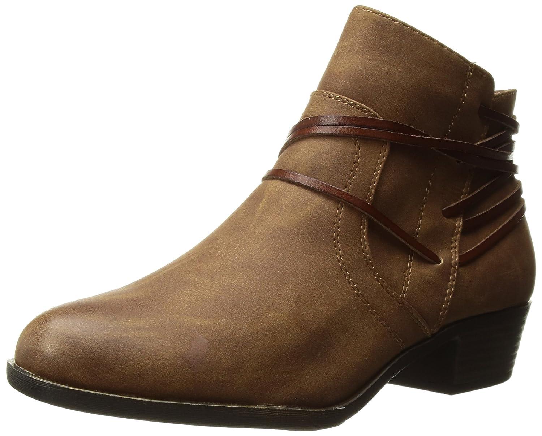 Madden Girl Women's Become Ankle Boot B072BJGMQJ 8 B(M) US|Cognac Paris