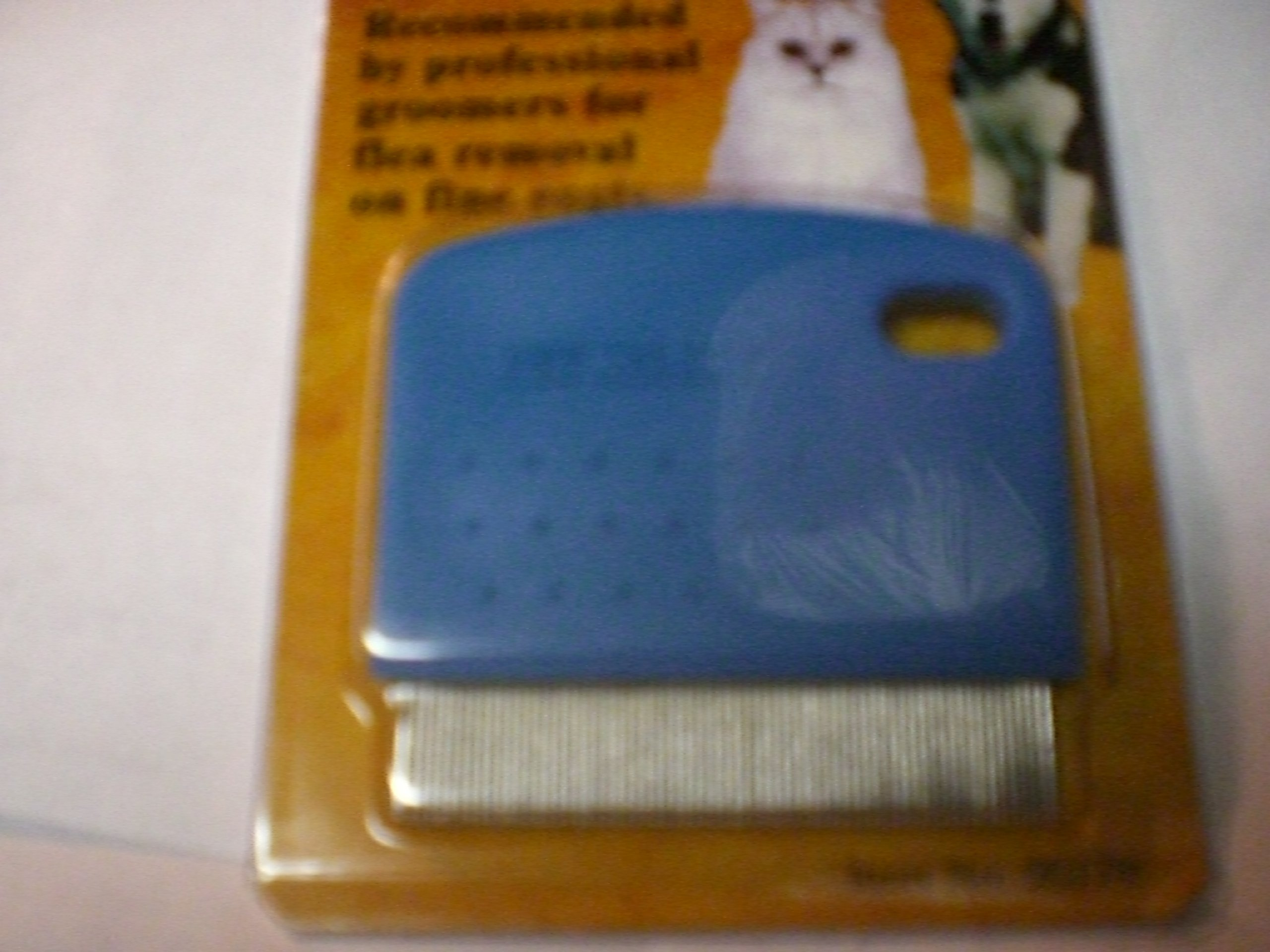 Flea Comb for Dogs & Cats , Recommended By Professional Groomers for Flea Removal on Fine Coatsl by Four Paws