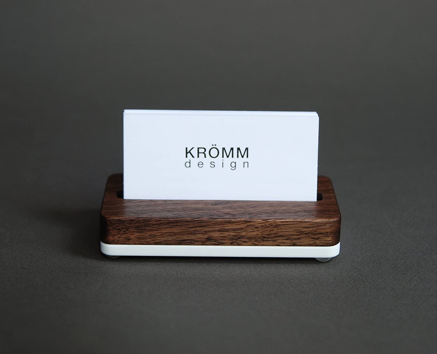 Amazon vertical moo business card stand vertical business card amazon vertical moo business card stand vertical business card holder business card display for vertical business cards in walnut wood and white reheart Choice Image