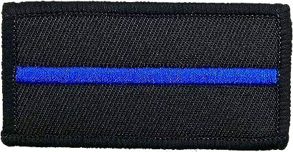 Policía memesshop Thin Blue Line – Parche Textil: Amazon.es: Coche y moto