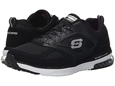 Skechers Skech Air Infinity New Heights Womens Sneakers Black/White 6.5