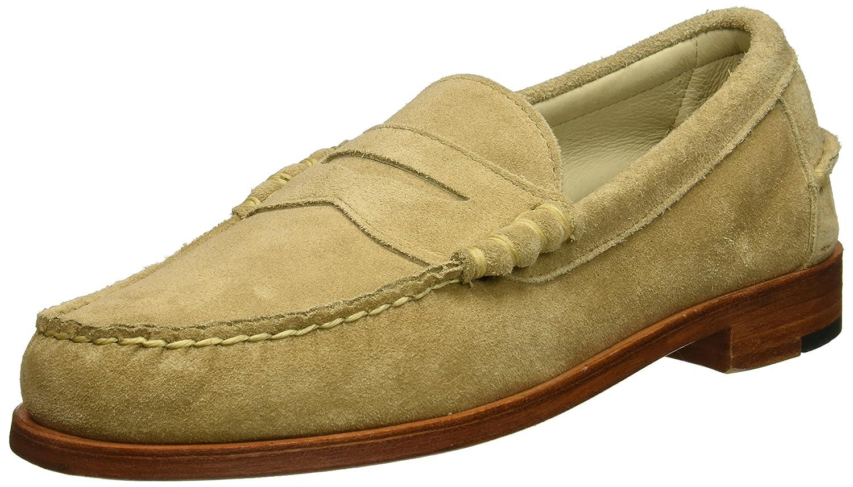 Allen Edmonds Mens Sea Island Penny Loafer Bone Suede D Shoes Slip On Mocasine Casual Black 7 Us Loafers Ons