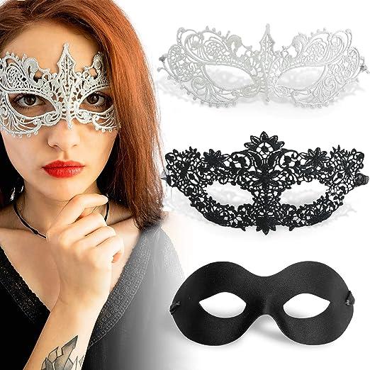 Silver Elegant Mardi Gras Prom Ball Halloween Party Masquerade Mask