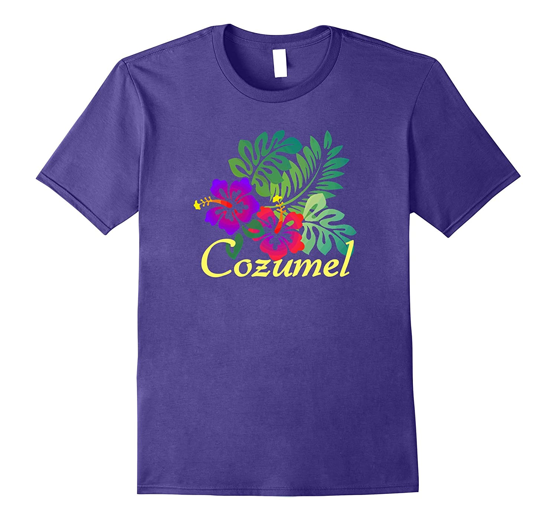 Cozumel Beach Tropical T-Shirt Travel Surf Gift Tee Shirt-T-Shirt
