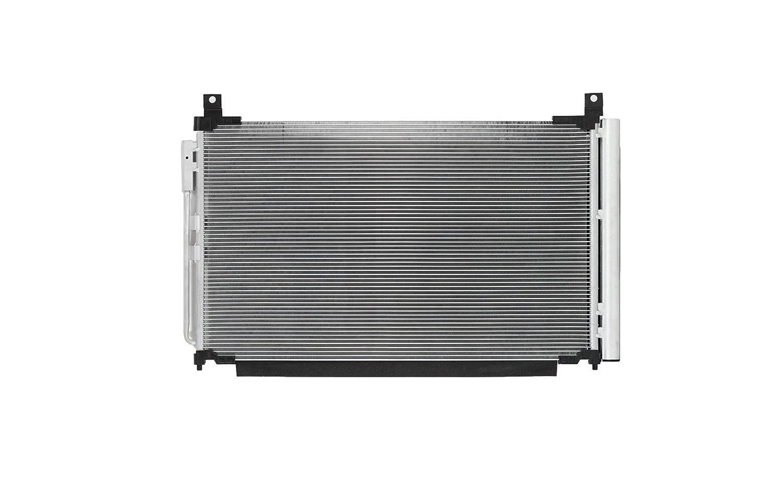 A-C Condenser For 30053 14-18 Infiniti Q50 17-18 Q60 3.0L V6 w// Receiver /& Dryer