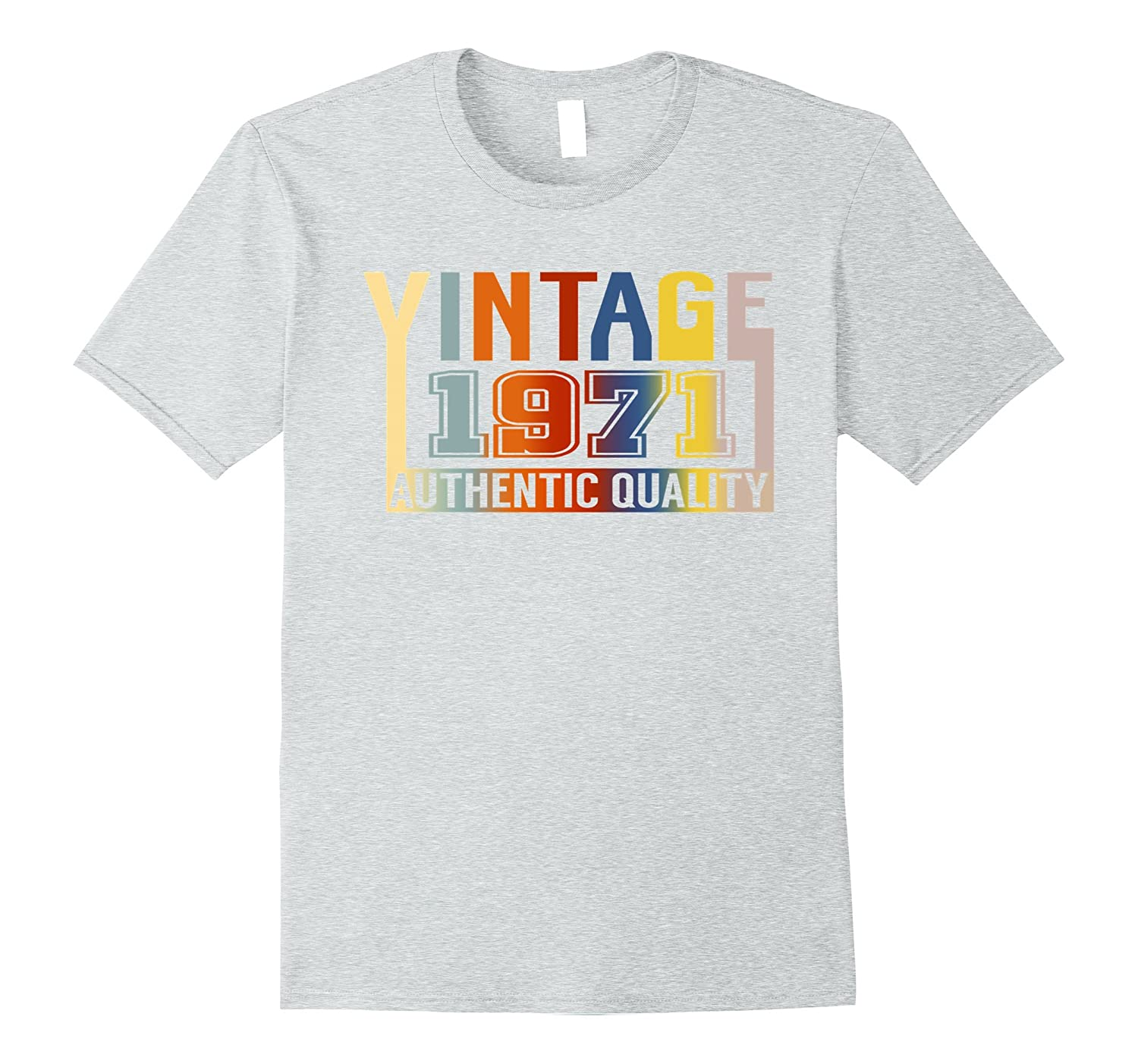 46th Birthday T-Shirt 46 Years Old Vintage 1971 Aged To Perfection Womens