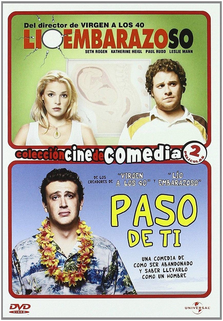 Lio embarazoso+Paso de ti [DVD]: Amazon.es: Cine y Series TV