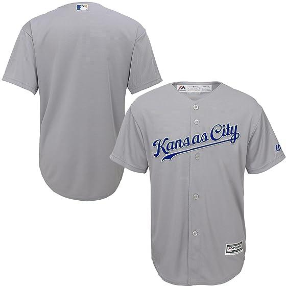 Kansas City Royals Blank Gray Jersey