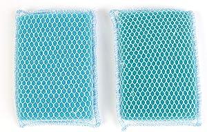 Butler Dawn Flip It Dual Sided Nylon Mesh and Cloth Kitchen Sponge, 2-pack (4 Sponges)