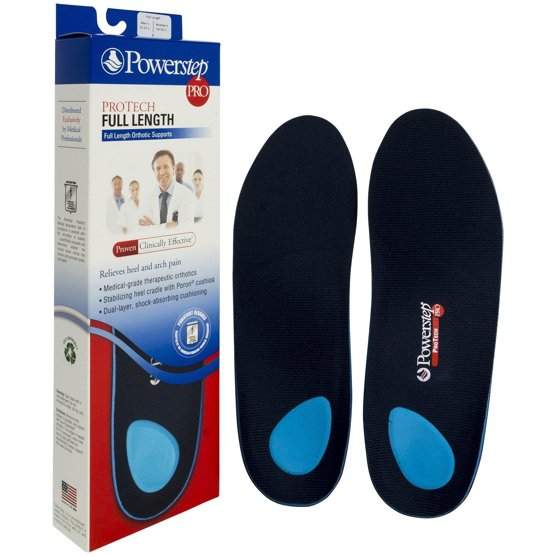 Powerstep® ProTech Full Length H:Men's 11-11 1/2, Women's 13-13 1/2