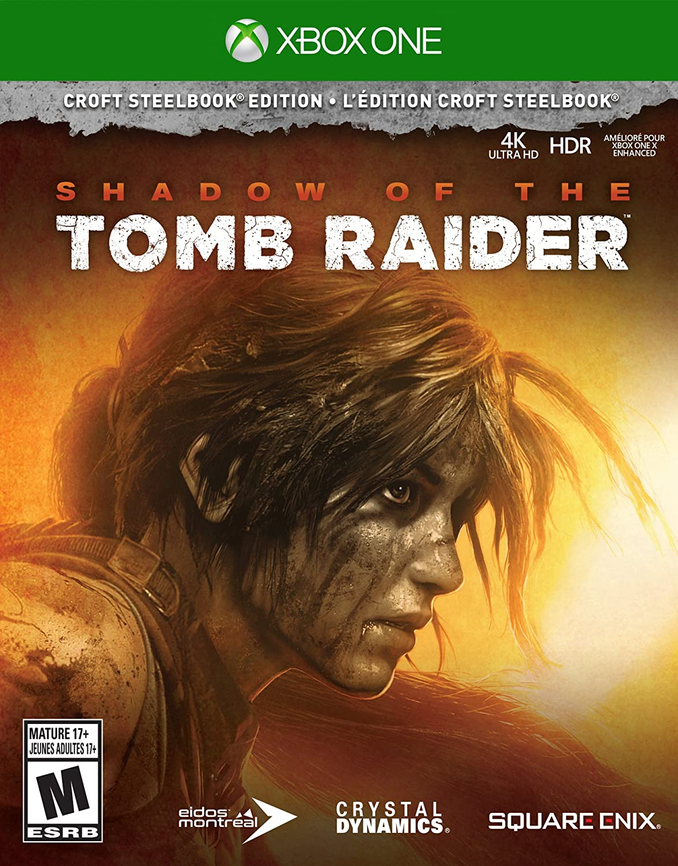 c5ce6c9fda0b8 Sản phẩm Shadow of the Tomb Raider Croft Steelbook Edition Xbox One ...