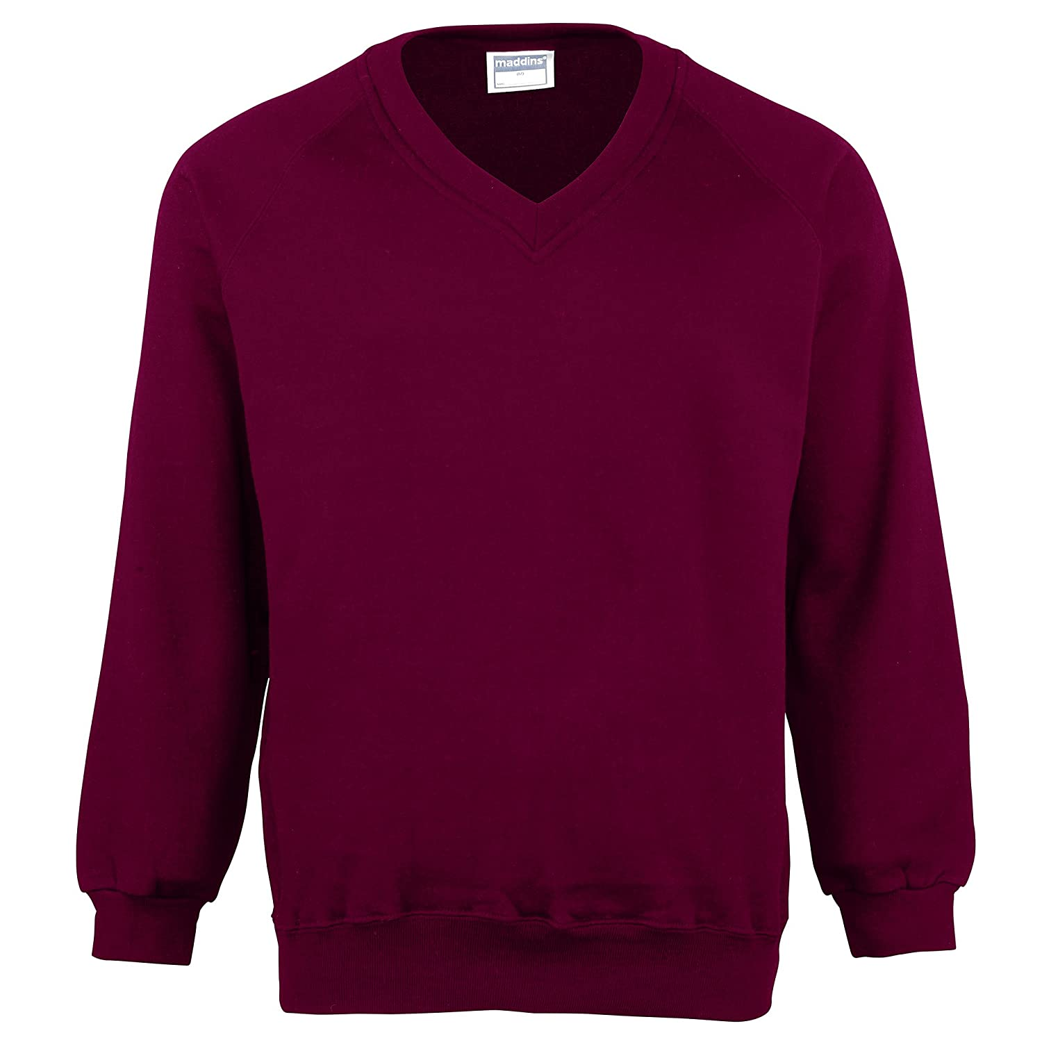 Maddins Men's V-Neck Sweatshirt at Amazon Men's Clothing store ...