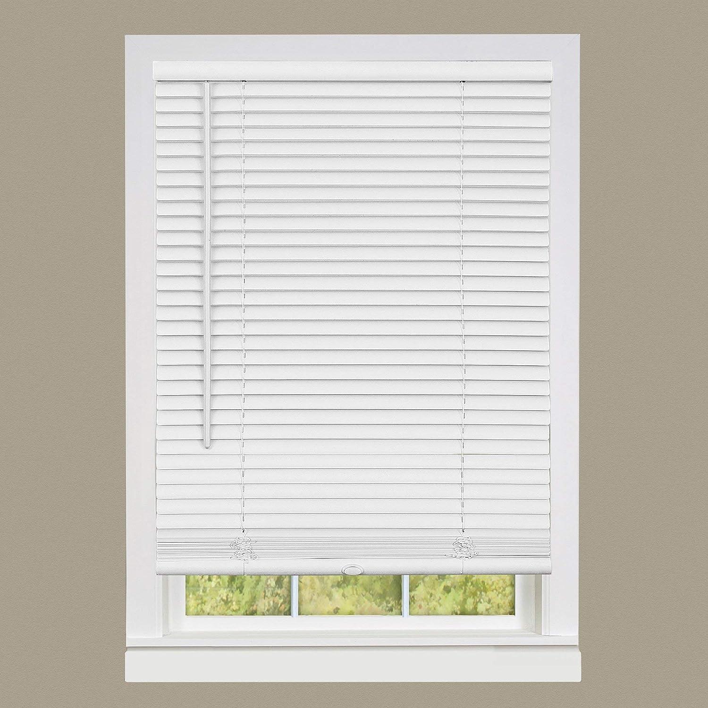 """Achim Home Furnishings DSG235WH06 Deluxe Sundown G2 Cordless Blinds, 35"""" x 64"""", White"""
