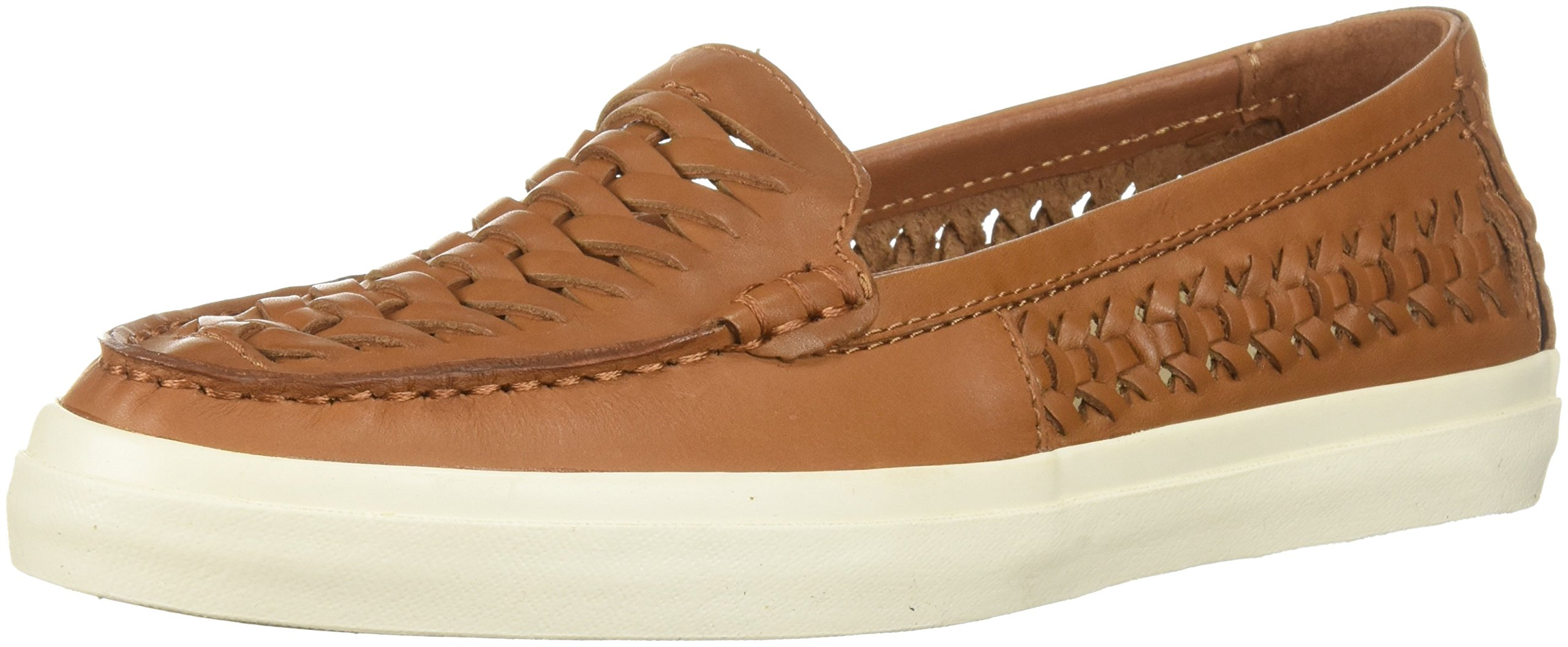 Cole Haan Women's Pinch Weekender LX Hurarche Penny Loafer, British Tan Leather, 8.5 B US