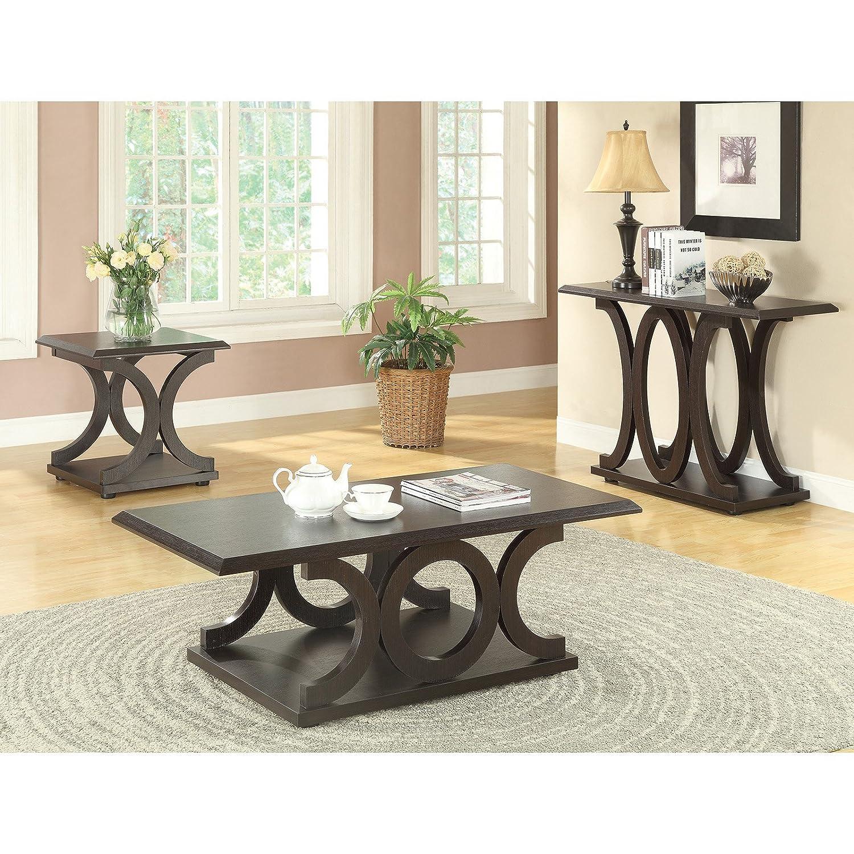 Amazon Coaster Home Furnishings Casual Sofa Table