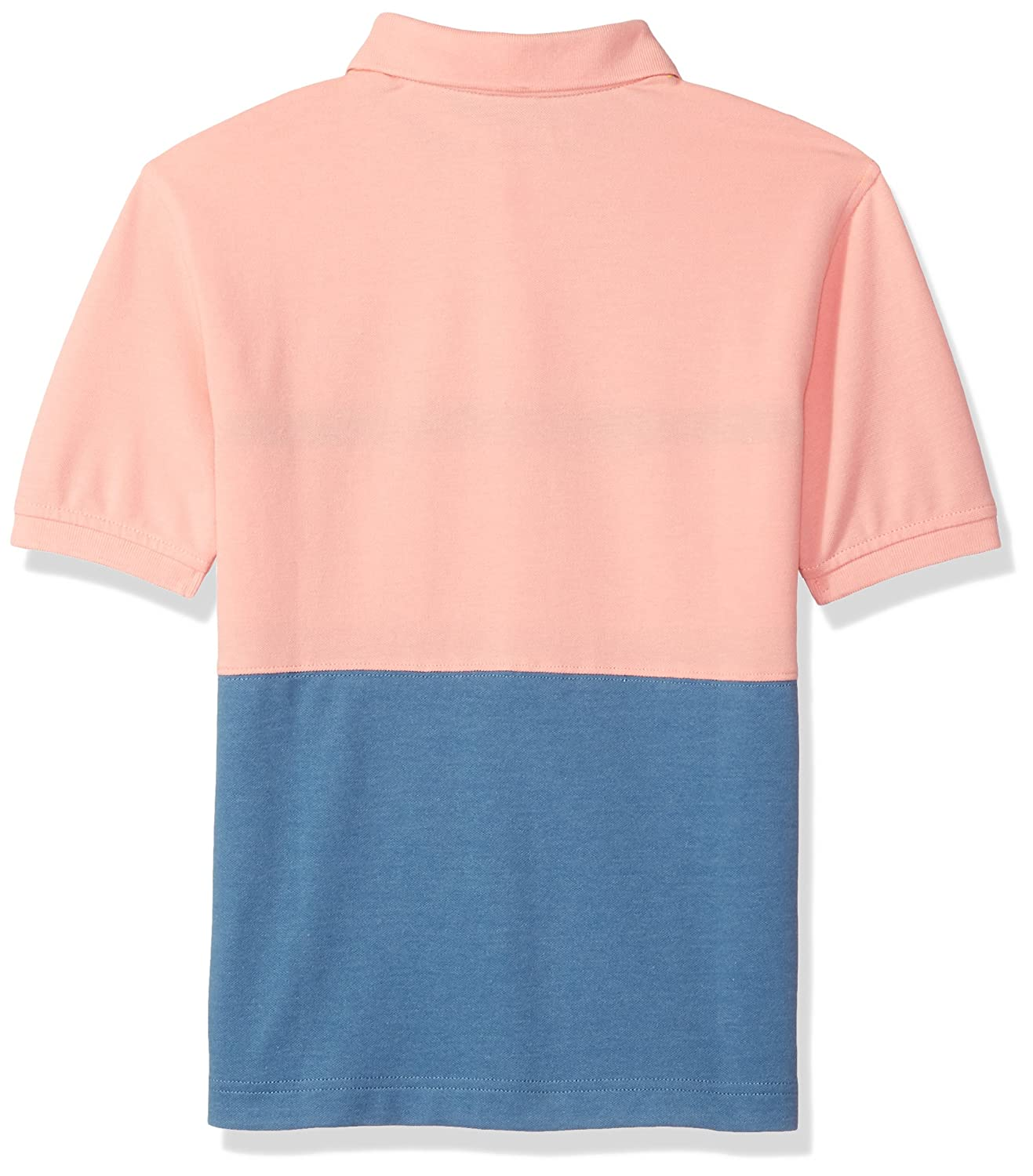Nautica Boys Short Sleeve Colorblock Deck Polo Shirt