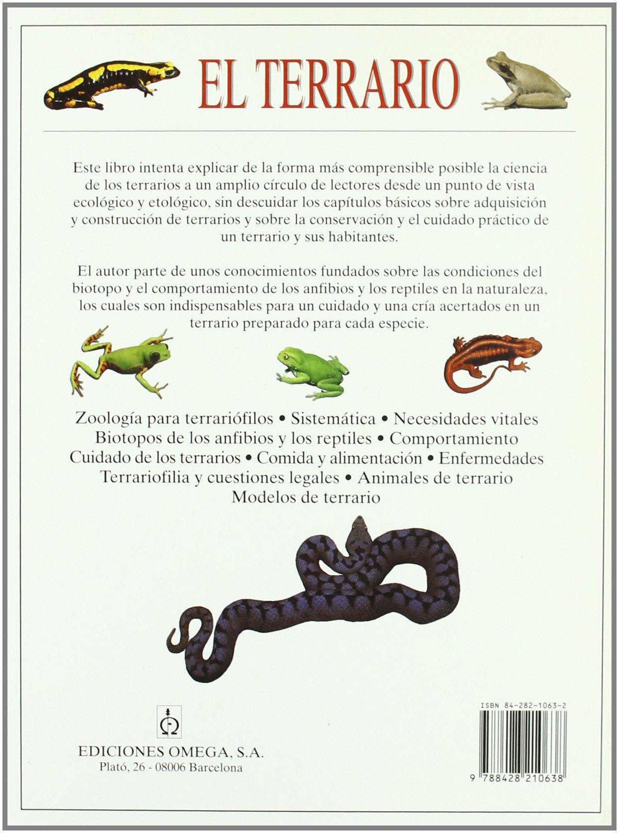 EL TERRARIO GUIAS DEL NATURALISTA-REPTILES -ANFIBIOS-TERRARIOS: Amazon.es: TRUTNAU, LUDWIG: Libros