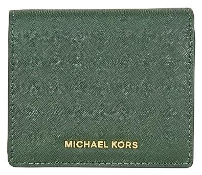 63c15c445c1b MICHAEL by Michael Kors Jet Set Moss 'Green' Carryall Card Case one size  Moss
