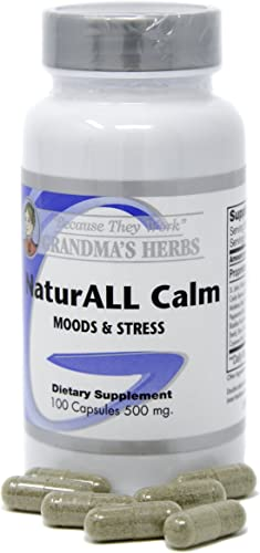 NaturAll Calm -Herbal Remedy Formulated with St. Johns Wort for Anxiety