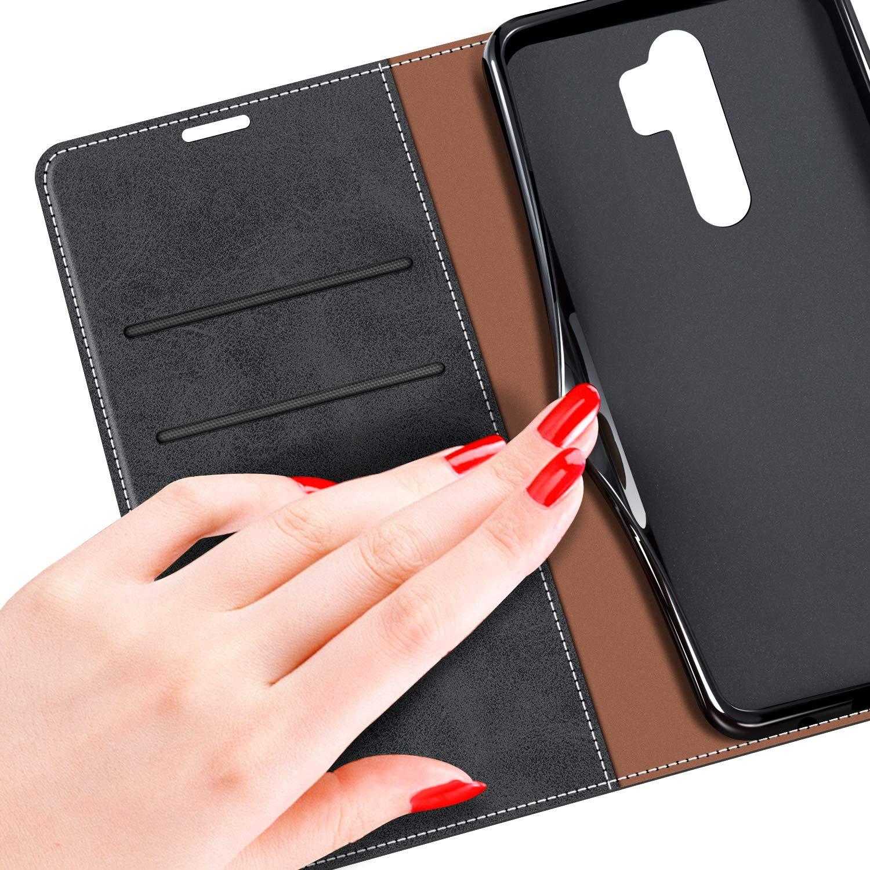 Negro Funda Libro Xiaomi Redmi Note 8 Pro Funda M/óvil Xiaomi Redmi Note 8 Pro Magn/ético Carcasa para Xiaomi Redmi Note 8 Pro Funda con Tapa MOBESV Funda para Xiaomi Redmi Note 8 Pro