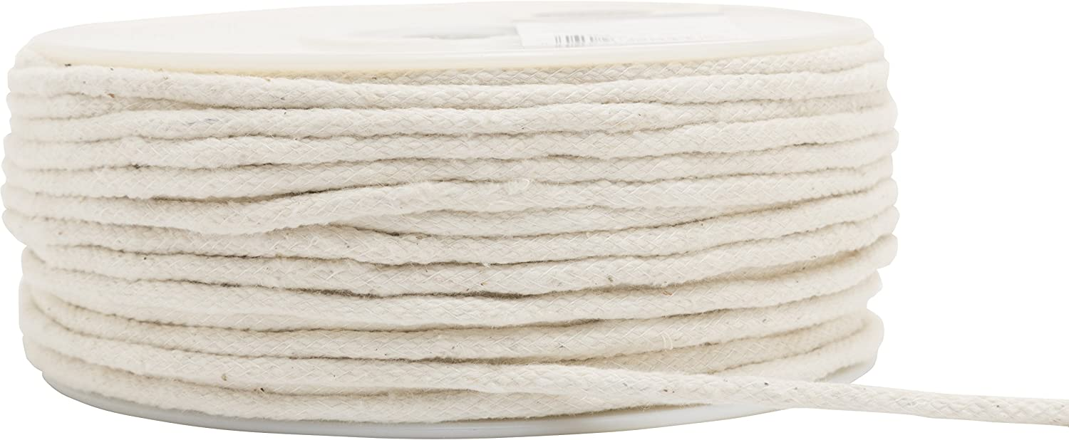 "Wrights Cotton Piping Size 1 3/16""X50yd, Natural"