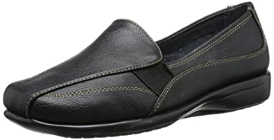 A2 by Aerosoles Women's Tricycle Slip-On Loafer,Black,5 ...