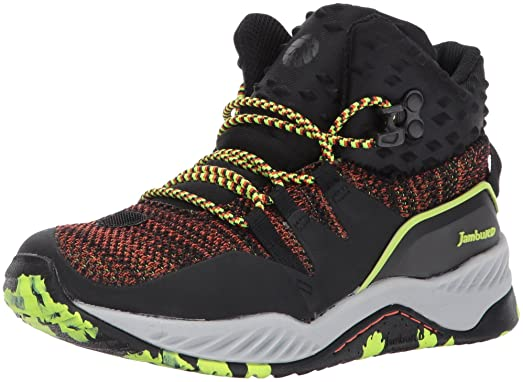 JambuKD Boys' Armadillo Hybrid Athletic Hiking Boot, Black, 10 M US Toddler