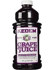 Kedem 100% Pure Kosher Grape Juice, Made with Concord Grapes, 64 fl. oz.