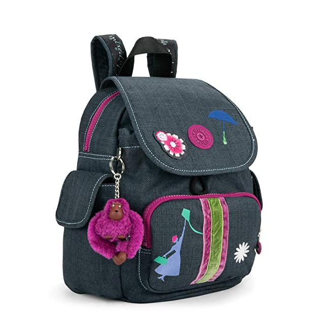 0ef7fabd72b Amazon.com  Kipling Disney s Mary Poppins Returns City Pack Extra Small  Backpack One Size Step In Time  Shoes