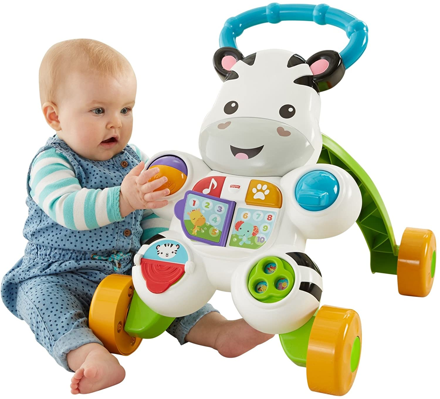 Amazon Fisher Price Learn with Me Zebra Walker Toys & Games