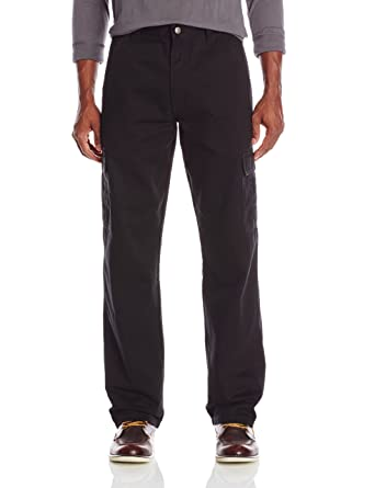 02b0a48b Wrangler Authentics Men's Classic Twill Relaxed Fit Cargo Pant at ...