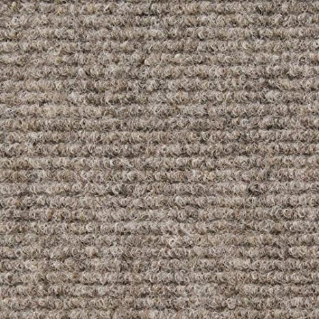 House Home And More Indoor Outdoor Carpet With Rubber Marine Backing Brown 6 Feet X 10 Feet