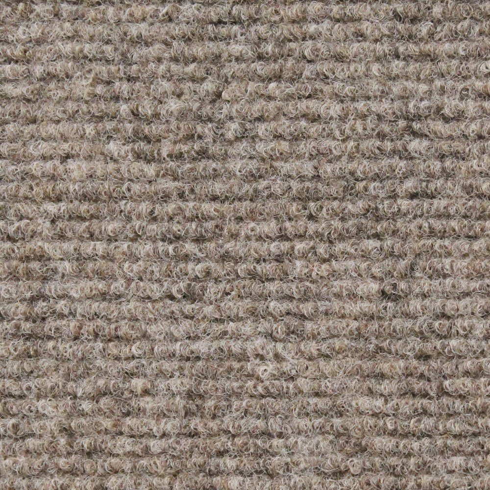 House, Home and More Indoor Outdoor Carpet with Rubber Marine Backing - Brown - 6 Feet x 10 Feet by House, Home and More