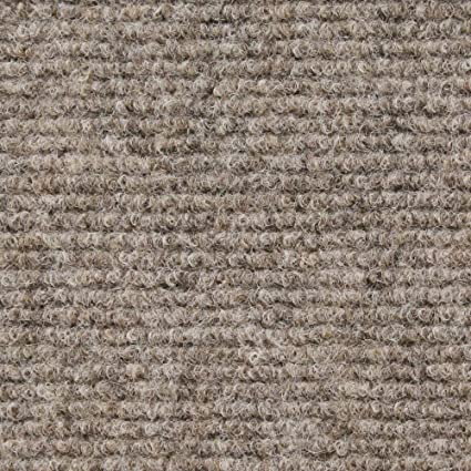 House, Home and More Indoor/Outdoor Carpet with Rubber Marine Backing - Brown 6
